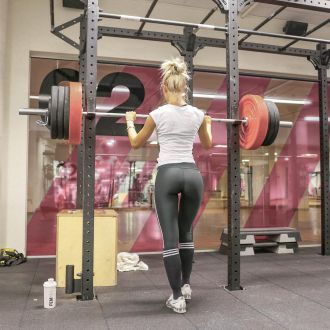 woman muscle weight loss